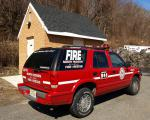 GMC JIMMY Headquarter Staff Car, North Hudson Regional Fire & Rescue, West New York, New Jersey